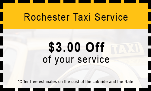 $3 Off Cab Coupon in Rochester, NY